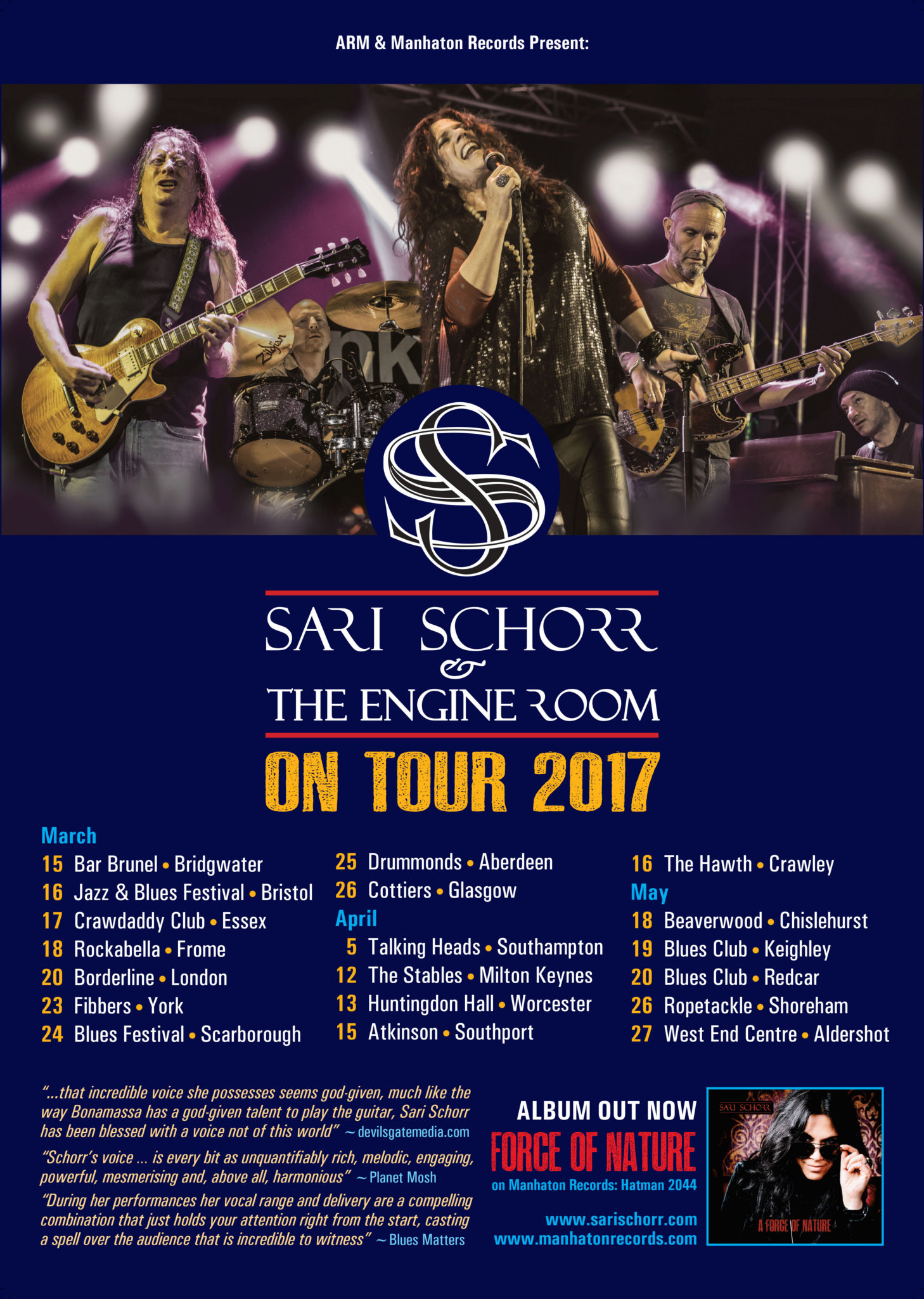 sarischorr tourposter